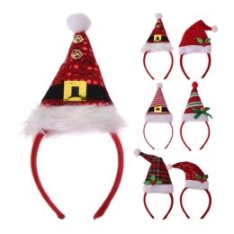 Čelenka - Vianočná čapica 26 cm, mix/1ks