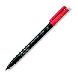 """Permanentný popisovač, OHP, 1 mm, STAEDTLER """"317 M"""", červený"""