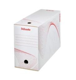 Archivačná krabica Esselte, biela 150 mm biela