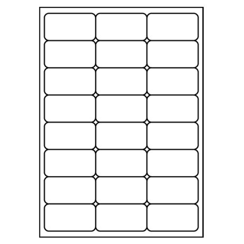 Etikety PRINT A4/100 ks, 68x36 - 24 etikiet, biele