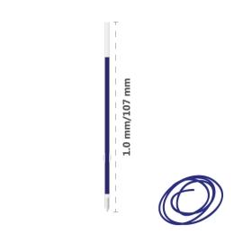 Náplň guľôčková MILAN P1 Touch 1,0mm - modrá