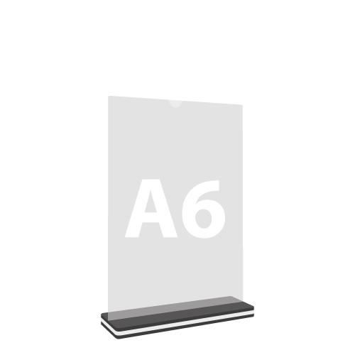"Stojan na dokumenty ""T"", A6 105x148 mm"