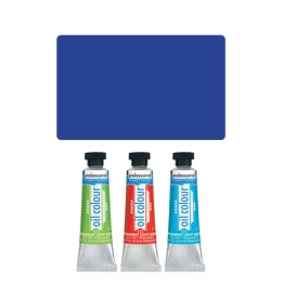 Farba olejová JUNIOR 45 ml korálová modrá 370