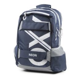 Študentský batoh OXY Sport BLUE LINE White