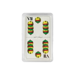 Karty hracie - Sedmové v plastovom boxe