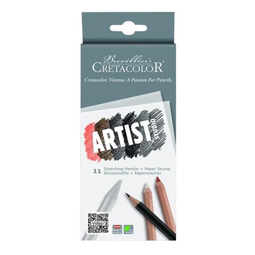 CRT sada umeleckých ceruziek 11ks