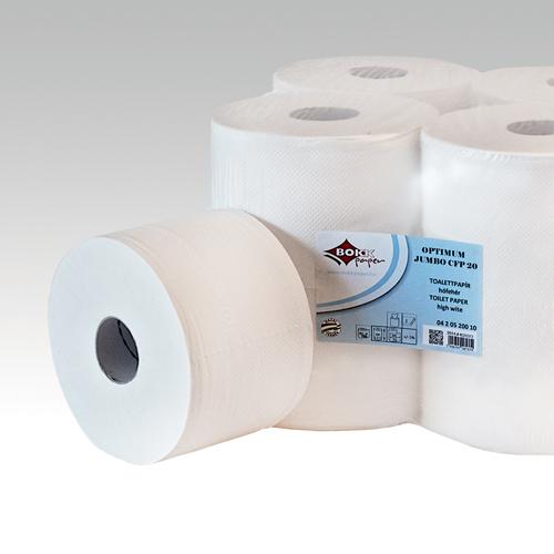 Toaletný papier Jumbo Optimum, 2-vrstvý, 6 ks/ bal