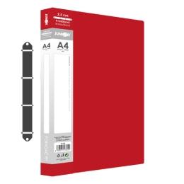 Poradač PP 4-krúžkový JUNIOR A4/2,5 cm - červený