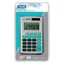 Kalkulačka MILAN vrecková 8-miestnaí 150208 modrá