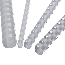 Hrebene plastové 45 mm biele