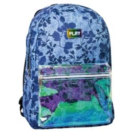 Školský batoh POP School, Pattern Light Blue