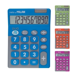 10-DIGIT CALCULATORS TOUCH DUO MIX