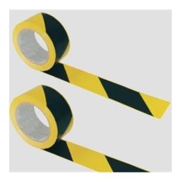 Označovacia páska, 7cm šírka, 200 m dlhá, žltá-čierna
