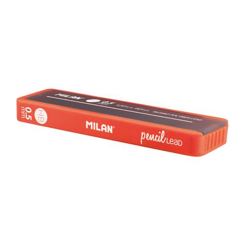 Grafitové tuhy MILAN HB / 0,5 mm, 12 ks