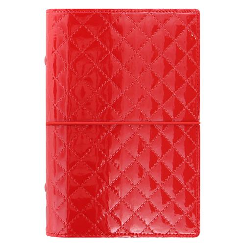 Diár Filofax Domino Luxe - červený, osobný