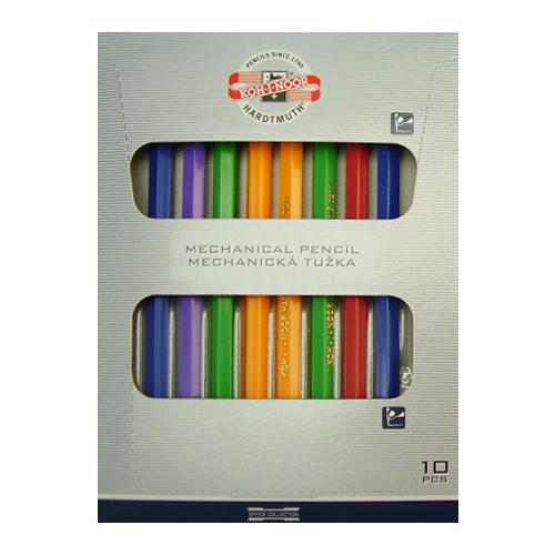 Mechanická ceruzka / Versatilka KOH-I-NOOR, 2,0 mm, plastová/mix farieb