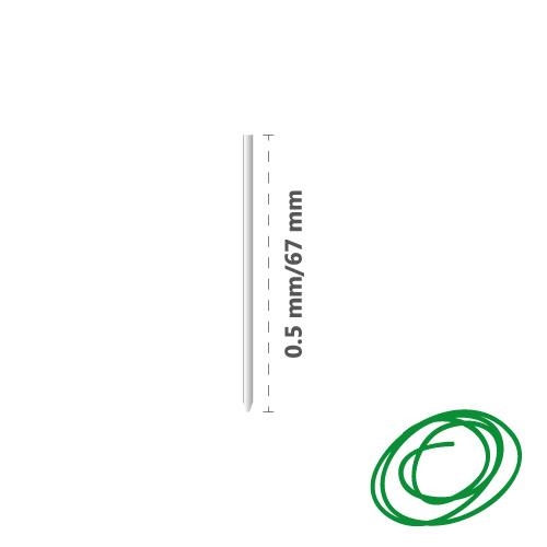 Náplň kovová R1004 (do 4-fareb. pera) 0,5 mm - zelená