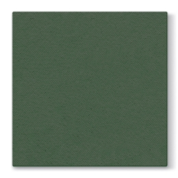 Obrúsky PAW AIRLAID L 40x40cm Unicolor Dark Green