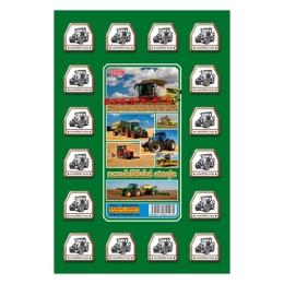 Pexeso A4 Poľnohospodárske stroje