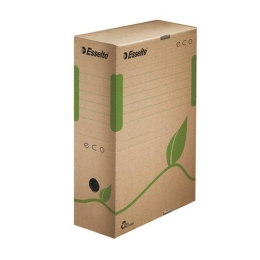 """Archívny box """"Eco"""", 100 mm, hnedý"""