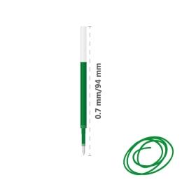 Náplň gélová MILAN Gel Touch 0,7 mm - zelená