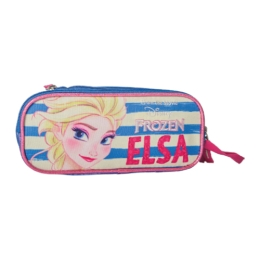 Puzdro na perá Box2Comp Frozen, pruhy Elsa