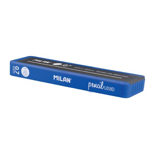 Grafitové tuhy MILAN HB/0,7 mm, 12 ks