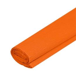 Krepový papier JUNIOR - tm. oranžový 06