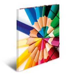 Doska s gumičkou A3 kartón - ceruzky