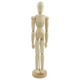 "SMPL manekyn - drevená figúrka - muž 12""/30 cm"
