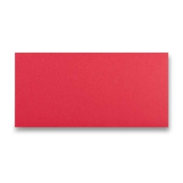Obálka CF - DL červená samolep. 120g (20ks)