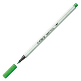 Fixa STABILO Pen 68 Brush, neon zelená