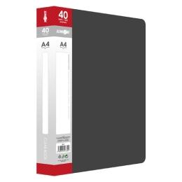 Katalógová kniha A4/40 listová, čierna