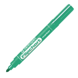 Popisovač CENTROPEN 8550 Flipchart - zelený