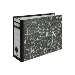 Poradač pákový Econom A3 na šírku, 80 mm, čierny
