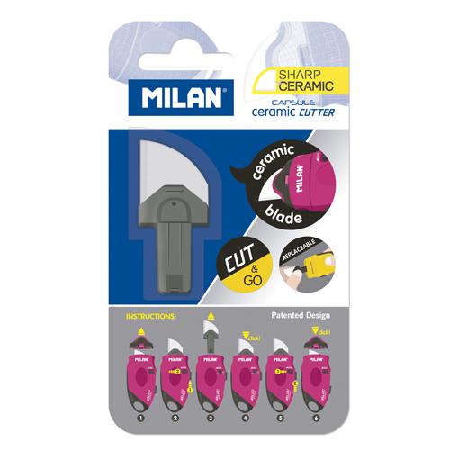 Náhradná čepeľ MILAN Capsule keramická pre orezávací nôž