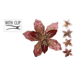 Kvet na klipe 20 cm - mix/1ks
