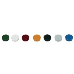 Magnetky, 10 ks, 20 mm, červené
