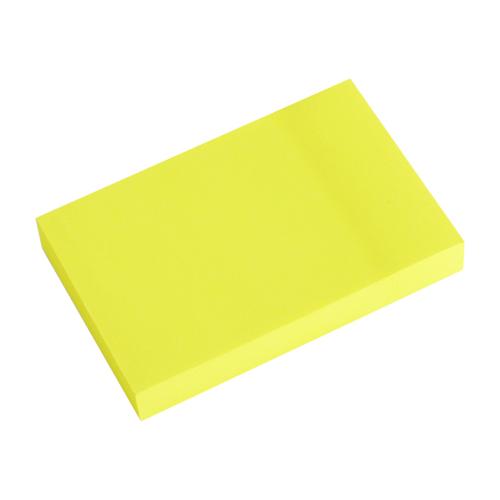 Blok lep. NEON 50 x 76 mm - žltý