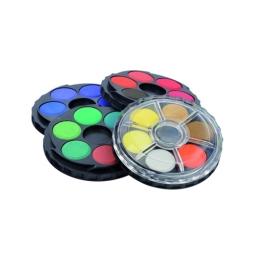 Farby vodové KOH-I-NOOR okrúhle, sada 24 ks