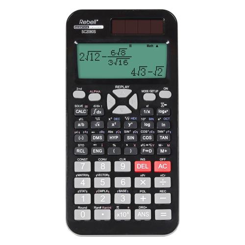 Kalkulačka vedecká REBELL RE-SC2080S BX