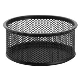 Drôtený stojan na spony veľký, čierny