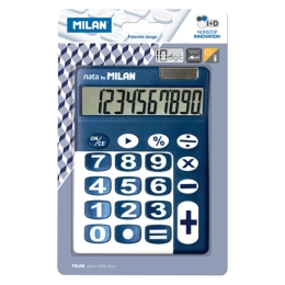 10-DIGIT BLUE CALCULATOR 150610