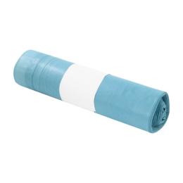 Vrecia na odpad LDPE 50 x 60 cm, zaťahovacie modré 30 l / 15 ks, 30 mic