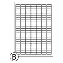 Etikety Soto label 25,4 x 10 mm (1232)