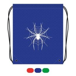 Vrecko na prezuvky s potlačou - pavúk