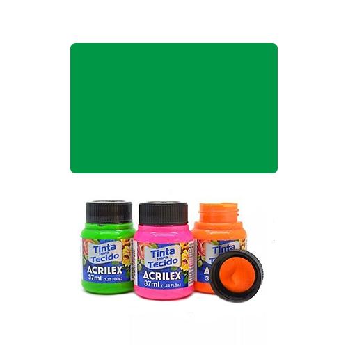 ACR Farba na textil 37ml, Fluorescent Green 101