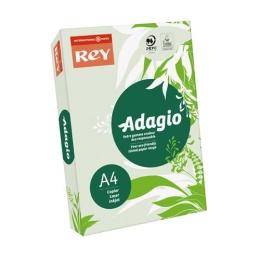 """Kopírovací papier, farebný, A4, 80 g, REY """"Adagio"""", pastelový zelený"""