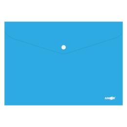 Obal s patentkou PP/A4, modrý
