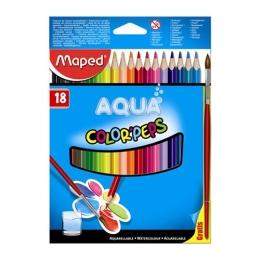 Pastelky trojhranné - akvarelové MAPED